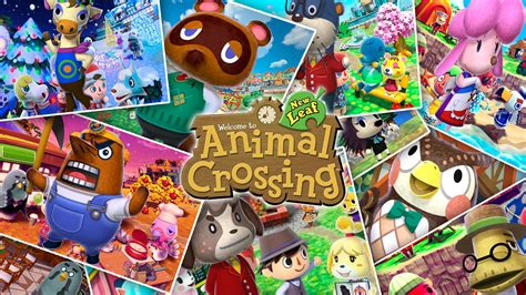 Animal Crossing New Leaf Wallpaper - wallpaper quot animal crossing new leaf quot hooper fr