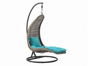 Fauteuil Suspendu Jardin : fauteuil suspendu iwazaru r sine tress e taupe ~ Dode.kayakingforconservation.com Idées de Décoration