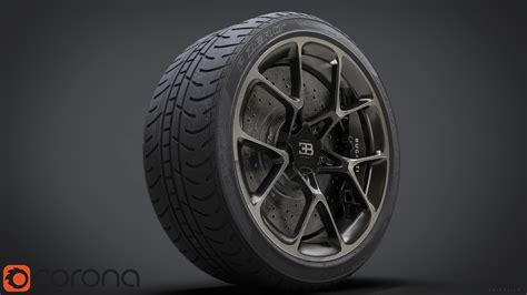 Bugatti Chiron Tires by David Baylis Design Bugatti Chiron Wheel
