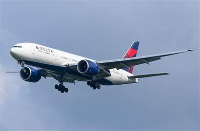 777 Delta Boeing 200 Airlines Plane Air