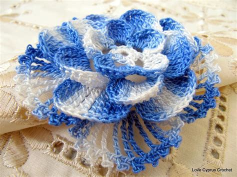 Beautiful Crochet Flowers  Crochet And Knit