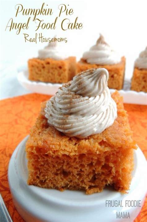 pie mixture recipes pumpkin pie angel food cake recipe pumpkins cakes and food cakes