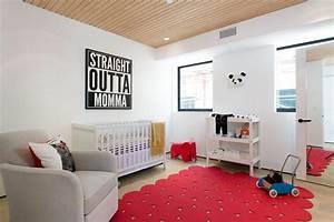 meubles scandinaves vintage et deco aux accents rouges en With tapis rouge avec ensemble fauteuil canapé