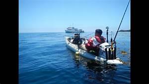Islander Mothership Kayak Fishing At San Clemente Island