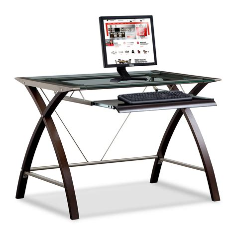 add keyboard tray to glass desk orion computer desk with keyboard tray merlot and