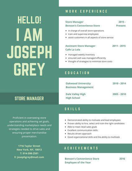 Customize 397+ Creative Resume Templates Online Canva