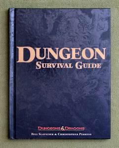 Dungeon Survival Guide  Dungeon  U0026 Dragons D20 3 5 Fantasy
