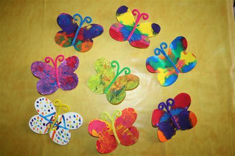 papillon peinture avec pliage les lutins cr 233 atifs