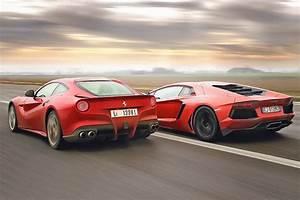 Ferrari Vs Lamborghini : lamborghini aventador vs ferrari f12 exotic car list ~ Medecine-chirurgie-esthetiques.com Avis de Voitures