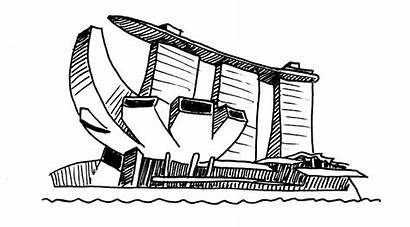 Marina Sands Bay Clipart Practice Singapore Context