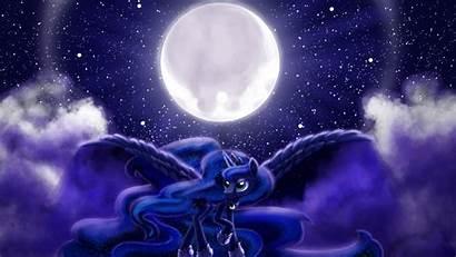 Luna Princess Mlp Pony Google Moon Night