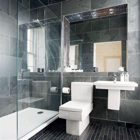 Moderne Anthrazit Bad Wohnideen Badezimmer Living Ideas