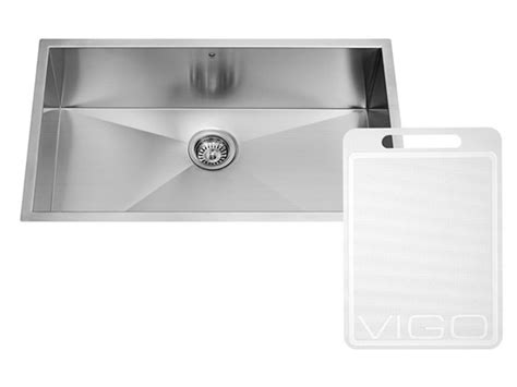 16 stainless steel kitchen sink 30 inch undermount stainless steel 16 single bowl 8965