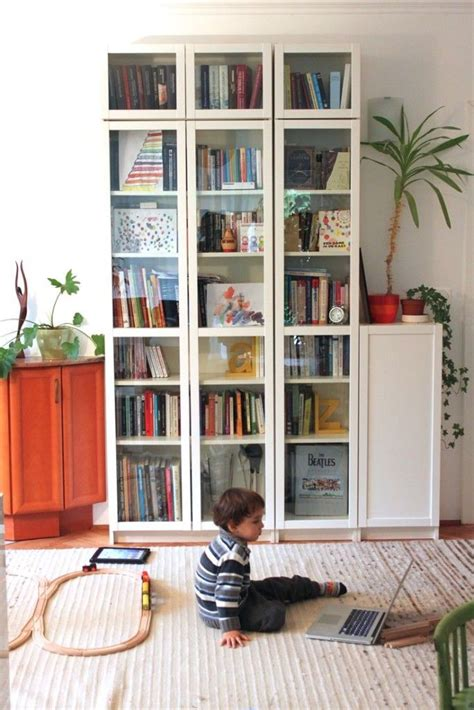 Low Height Bookshelf by 27 Cool Ikea Billy Bookcases Design Ideas Glass Ikea