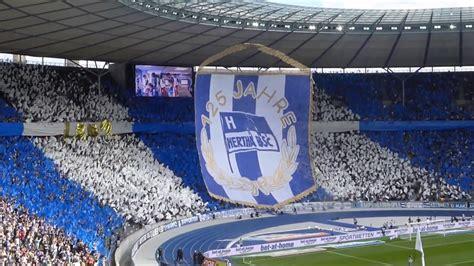 Hertha bsc startet mit hauptsponsor homeday einen moneypool für soziale berliner einrichtungen. 2017/2018 125-Jahre Choreo Hertha BSC Berlin ,19.08.17 ...