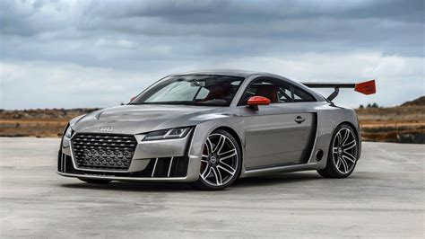 2016 Audi Tt Coupe Concept Wallpaper
