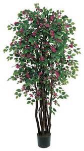 6 bougainvillea silk tree transitional artificial