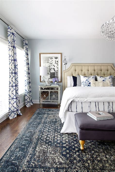 inspired  blue patterned statement rugs  inspired