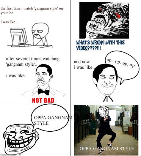 Gangnam Style Meme - ragegenerator rage comic oppa gangnam style