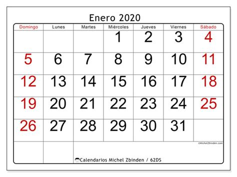 calendario enero ds michel zbinden es