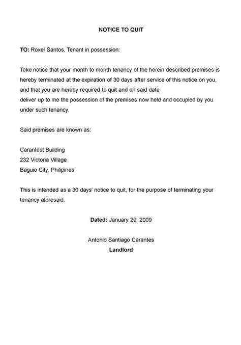 Recent economic conditions have caused a significant downturn in sales, necessitating a 20 percent. Printable Sample Letter Of Termination Form | Business letter template, Free printable letters ...