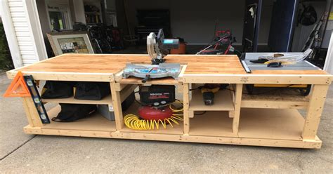 building  tablesaw router table workbench