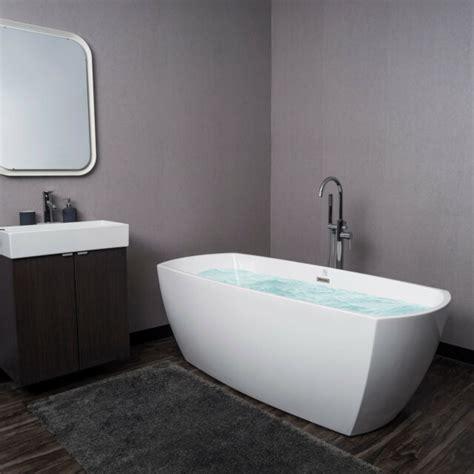 modern bathroom tub 69 quot luxury acrylic freestanding spa soaking bathtub oval