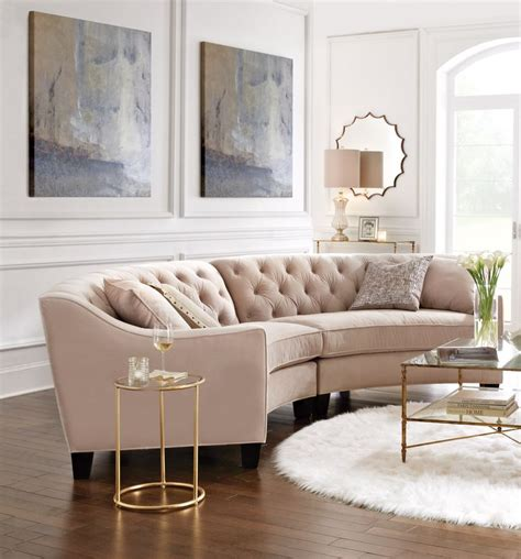 curved sofa ideas  pinterest curved couch