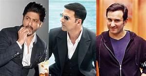 Shah Rukh Khan, Akshay Kumar And Saif Ali Khans Throwback ...