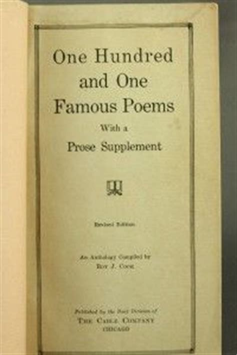 vintage 1926 one hundred and one poems hardback book great