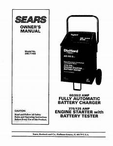Diehard 200 71465 Owner S Manual