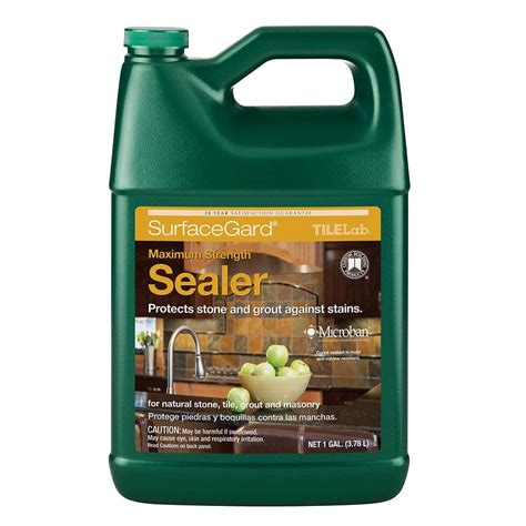 saltillo tile sealer home depot tlsgsra1 2 tilelab surfacegard sealer 1 gallon sale 2