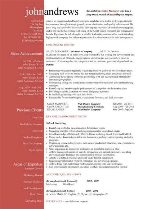 Resume Format Ideas by Free Cv Exles Templates Creative Downloadable Fully
