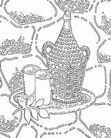 Coloring Pages Printable Adults Abstract Adult sketch template