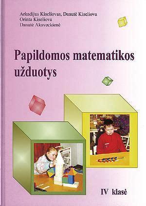 Papildomos matematikos užduotys 4 klasei | Knygos.lt