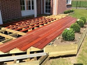 Bois Exotique Pour Terrasse : terrasse en bois exotique padouk galaxy jardin ~ Dailycaller-alerts.com Idées de Décoration