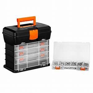 VonHaus Very Small Utility Tool Storage Box - Portable ...