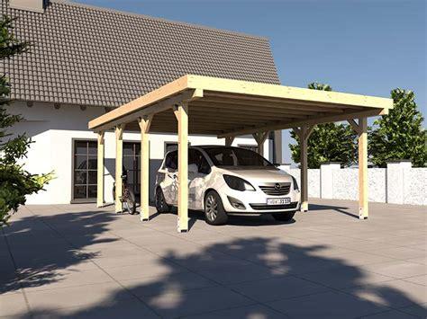 Carport Flachdach Avus X 500 X 600 Cm