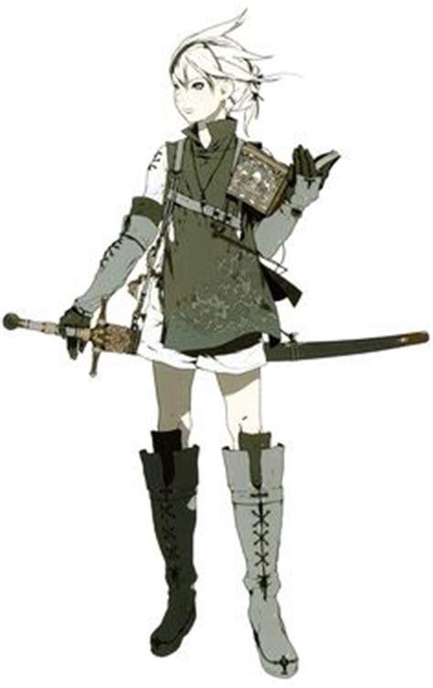 NieR Automata - Devola u0026 Popola | Character Design | Pinterest | Nier automata Anime and ...