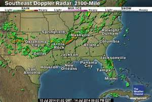 Weather Channel Doppler Radar Florida