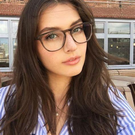 natural beauty  glasses sexy eye glasses maedchen