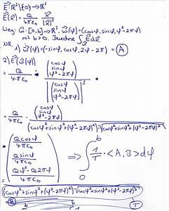 Elektrisches Feld Berechnen : elektrisches feld punktladun kurvenintegral wegintegral ~ Themetempest.com Abrechnung