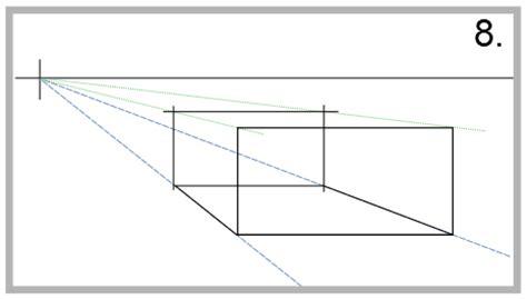 Übung  Die Zentralperspektive Mit Einem Fluchtpunkt Zeichnen