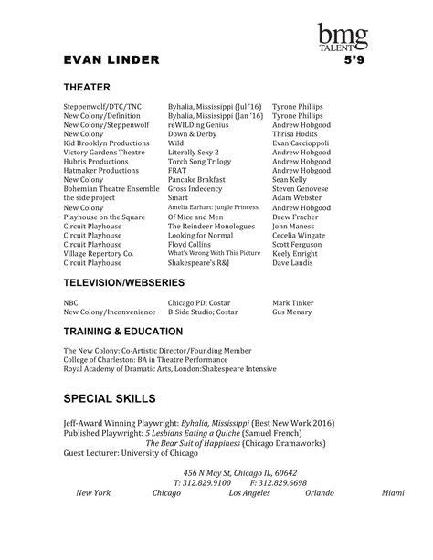 Headshot Resume Exles by Headshots Evan Linder