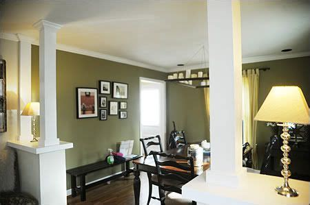 small kitchen living room ideas installing a half wall knee wall to separate living and