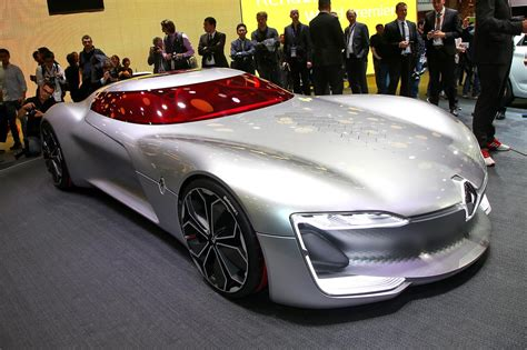 Renaults Next Big Thing Electric Trezor Concept Revealed