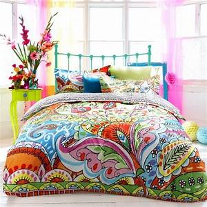 Colorful bedding webnuggetzcom for Colorful sheets for bed