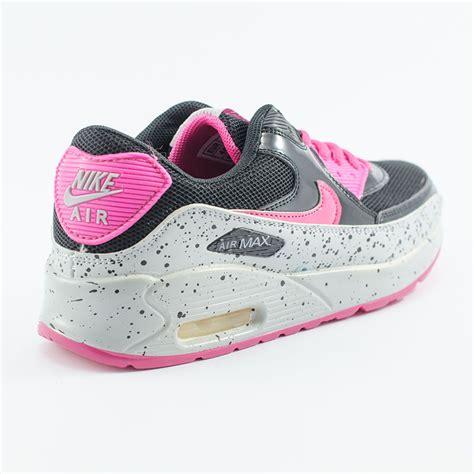 Sepatu Nike Airmax Pink Mix jual sepatu nike airmax 90 sparkle hitam putih bakul