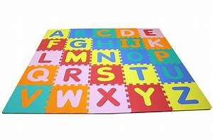 Foam alphabet mat interlocking kids floor mat for Letter floor mat