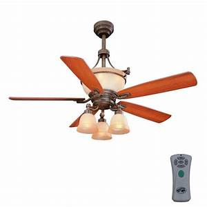 Hampton bay ceiling fan works but light does not fansdesign